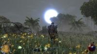 Восход луны, над низиной