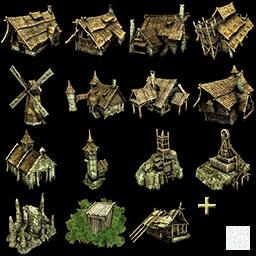Иконки строений